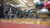 There were empty gyms....